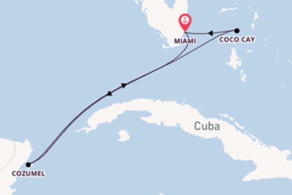 6daagse cruise naar Cozumel