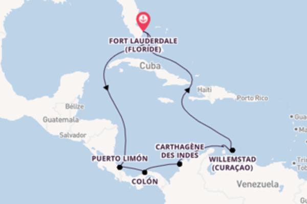 12 jours pour découvrir Colón à bord du bateau Vision of the Seas