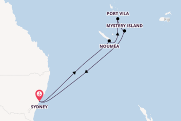 Sailing from Sydney via Port Vila