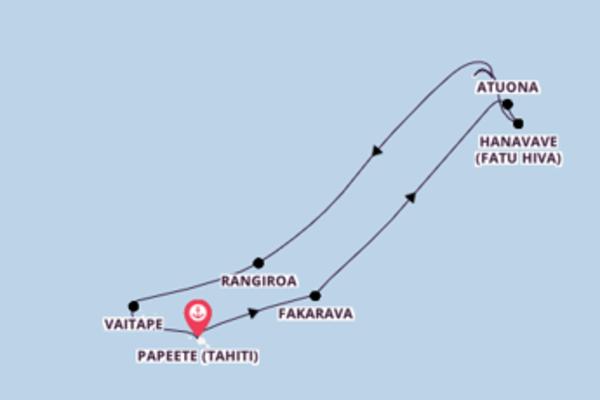 Begeisternde Kreuzfahrt mit der Aranui 5
