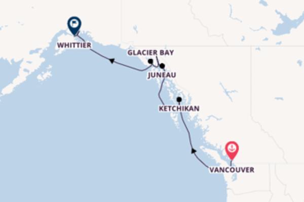 Cruise met Princess Cruises naar Juneau