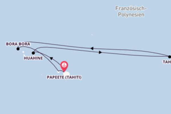 Die Paradise von Französisch-Polynesien erleben