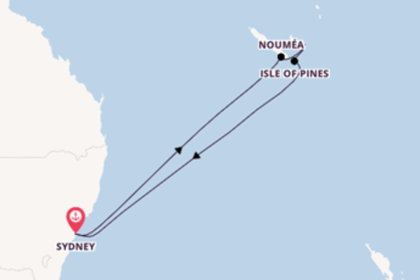 Journey with the Carnival Splendor from Sydney