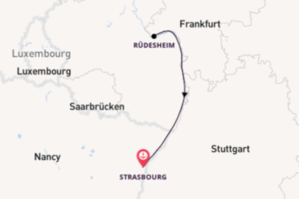 Delightful voyage from Strasbourg with CroisiEurope