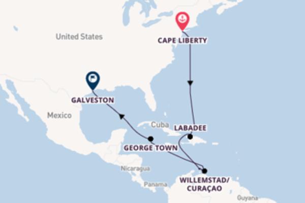 Lasciati incantare da Oranjestad partendo da Cape Liberty