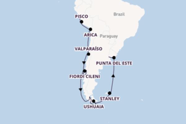 Lasciati conquistare da Callao, Punta del Este e Buenos Aires