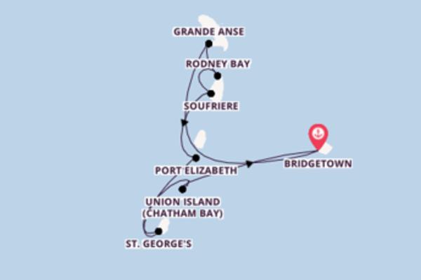 Begeisternde Kreuzfahrt über Grande Anse ab Bridgetown