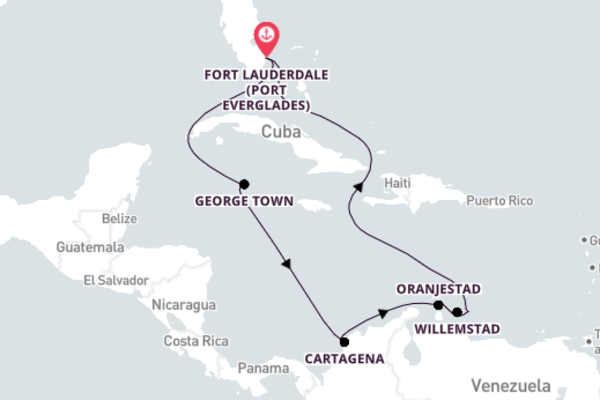 Breathtaking Oranjestad Cruise with Celebrity Cruises