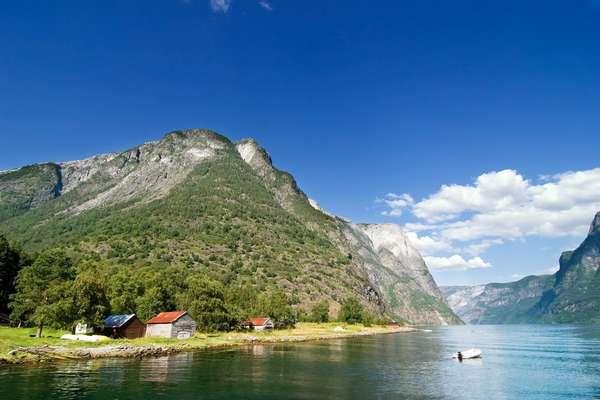 Smeerenburgfjord, Noorwegen