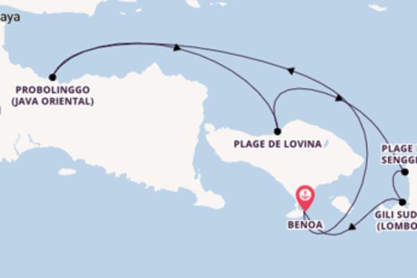 Envoutante virée de 8 jours depuis Benoa