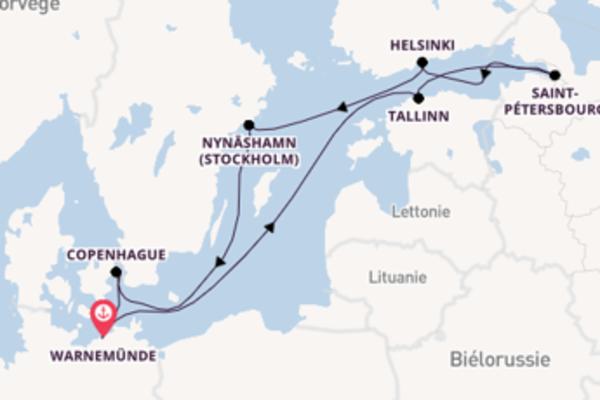 Sublime balade à bord du bateau Norwegian Escape
