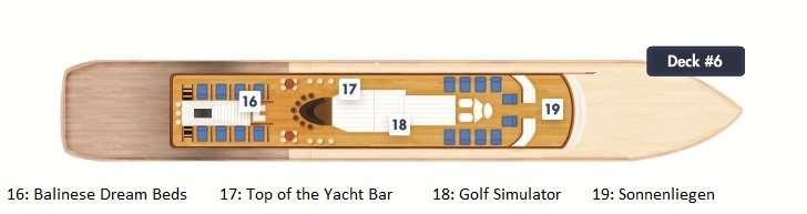 海之梦二号 Deck 6