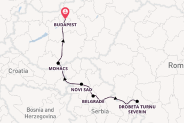 Trip with CroisiEurope from Budapest