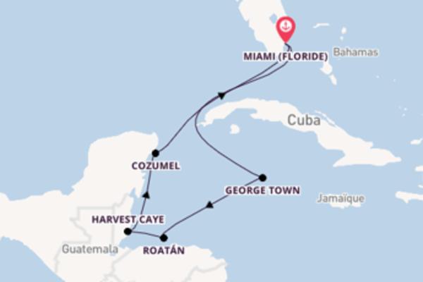 Idyllique croisière de 8 jours avec Norwegian Cruise Line