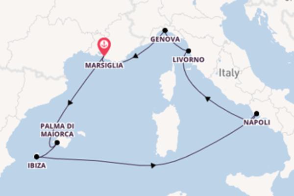 Salpando i mari da Marsiglia