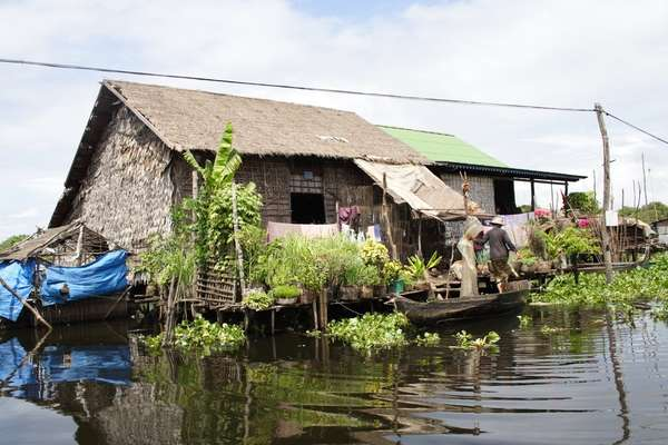 Kampong Tralach, Kambodscha