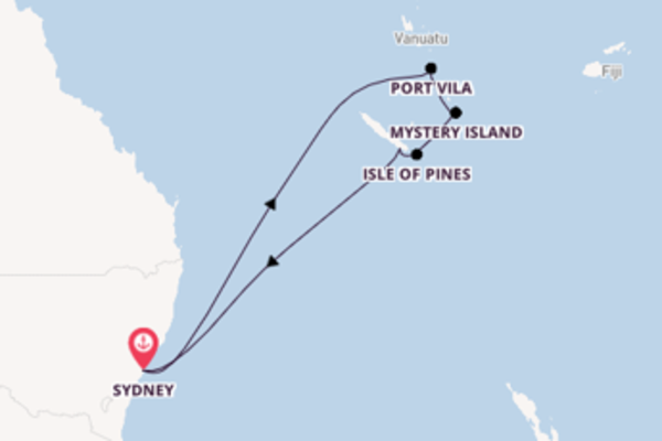 11 day journey from Sydney