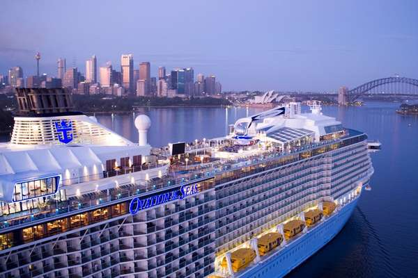 3 Day Cruise With The Ovation Of The Seas To Sydney Ovation Of The Seas Royal Caribbean
