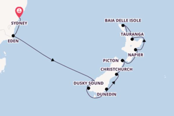 Crociera di 12 giorni a bordo di Celebrity Eclipse