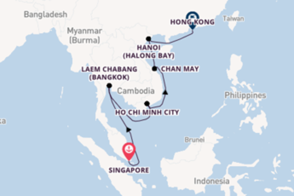 Memorable voyage from Singapore with Celebrity Cruises