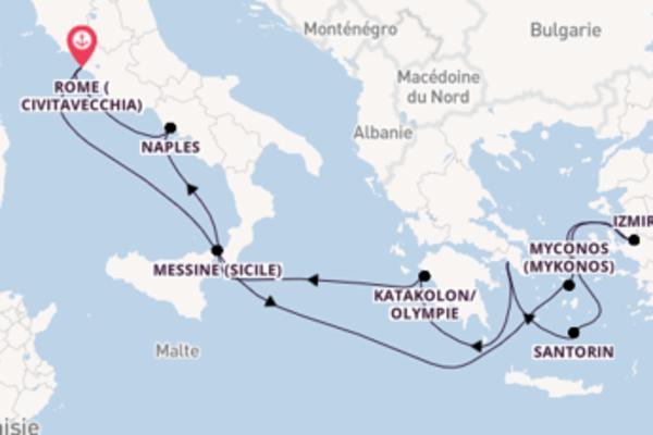 Croisière de 11 jours depuis Rome (Civitavecchia) avec Carnival Cruise Lines