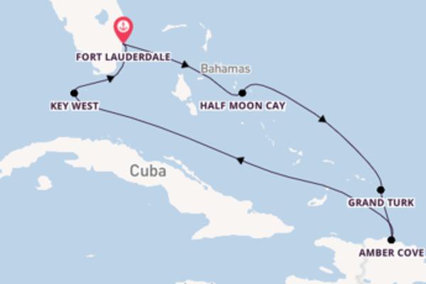 Vaar langs het ongekende Key West