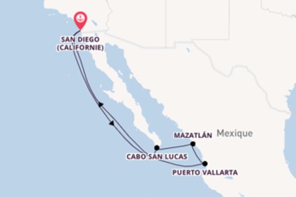 Incontournable balade de 8 jours au départ de San Diego (Californie)