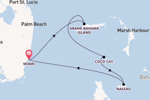 Trip with Royal Caribbean from Miami