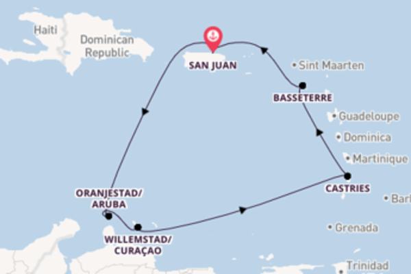 Sail from San Juan with the Norwegian Epic
