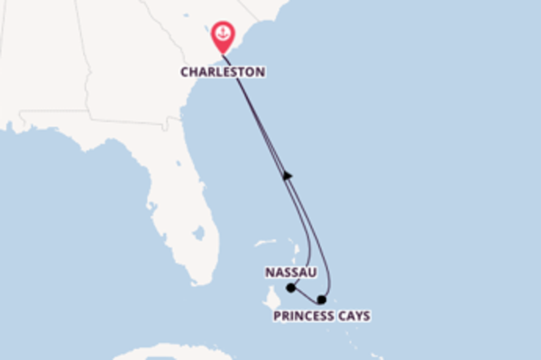 Trip from Charleston with the Carnival Sunshine