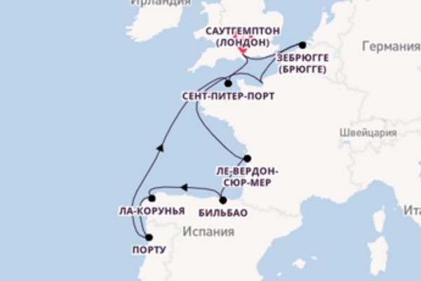Яркое путешествие на 11 дней с Norwegian Cruise Line