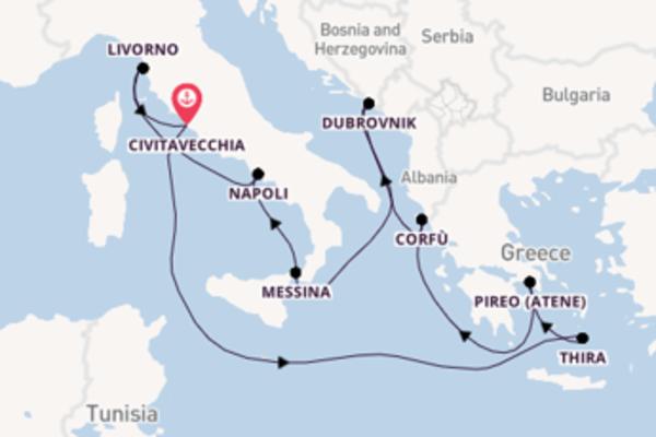 Scopri Napoli partendo da Civitavecchia