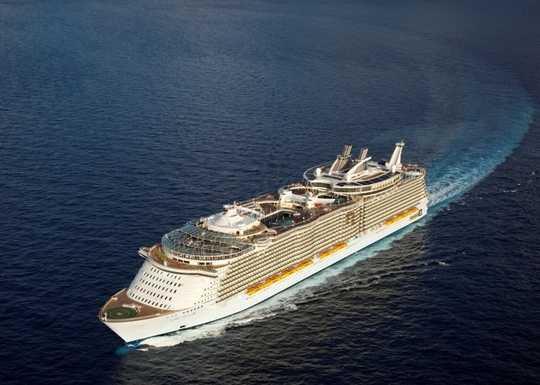 Eastern caribbean beauty from fort lauderdale allure of - Allure of the seas fort lauderdale port address ...
