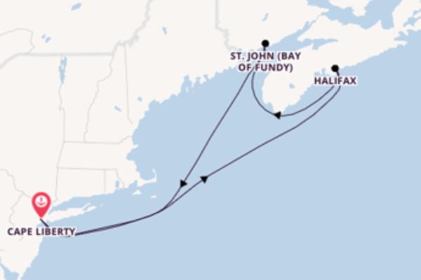 Entdecken Sie 6 Tage Halifax und Cape Liberty