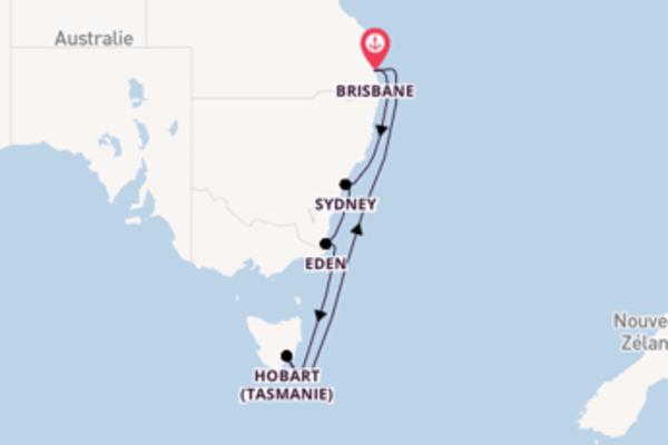 10 jours pour découvrir Sydney au départ de Brisbane