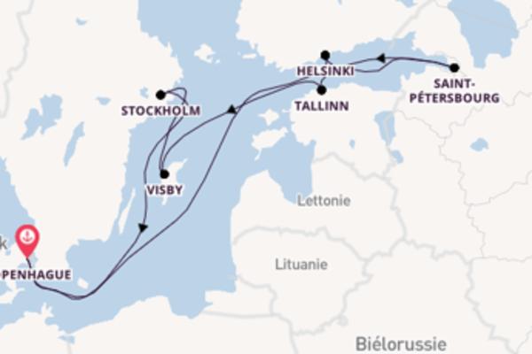 9 jours pour découvrir Helsinki à bord du beateau Disney Magic