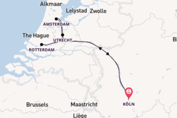 6 Tage Rhein Kreuzfahrt