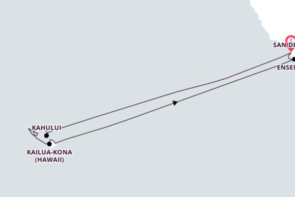 16-Day Spectacular Excursion to Kailua-Kona, Hawaii