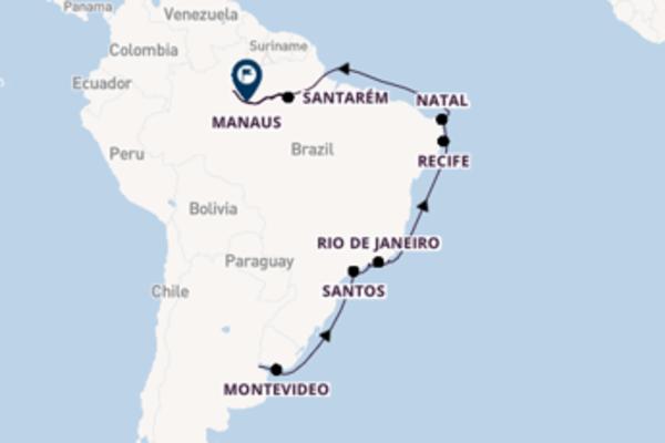 Wonderful Buenos Aires to wonderful Manaus