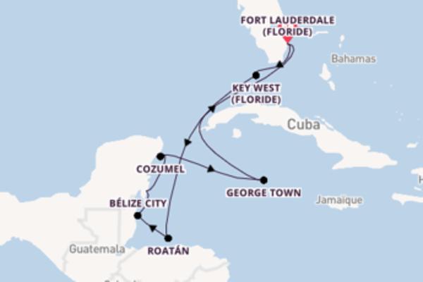 Croisière de 10 jours depuis Fort Lauderdale (Floride) avec Celebrity Cruises