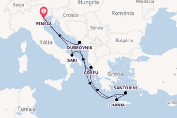Navegando a bordo do MSC Orchestra  por 8 dias