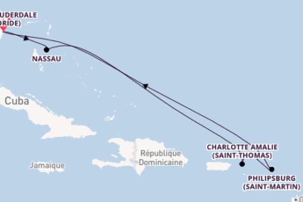 Superbe croisière avec Celebrity Cruises pendant 8 jours
