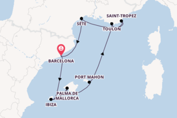 Breath-taking trip from Barcelona with Seabourn