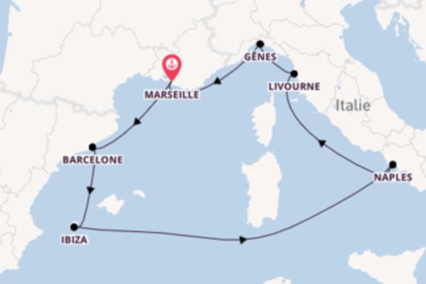 8 jours pour découvrir Livourne au départ de Marseille