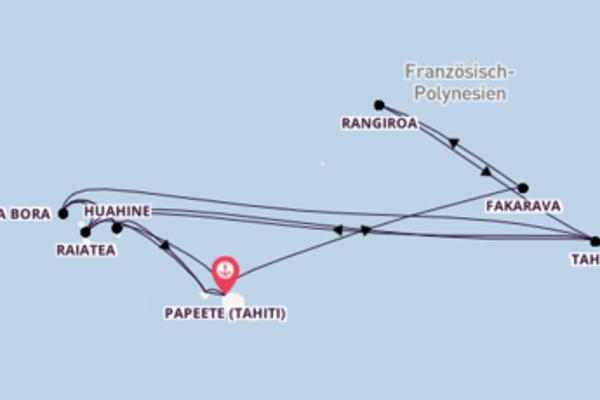 Französisch Polynesien in 19 Tagen