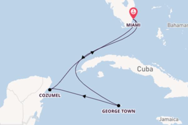 6-daagse cruise naar George Town