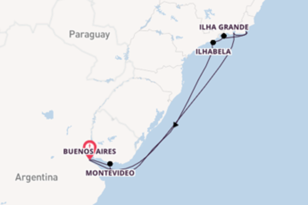 10 day journey from Buenos Aires