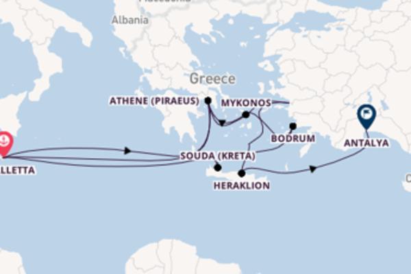 Ervaar Souda (Kreta) met TUI Cruises
