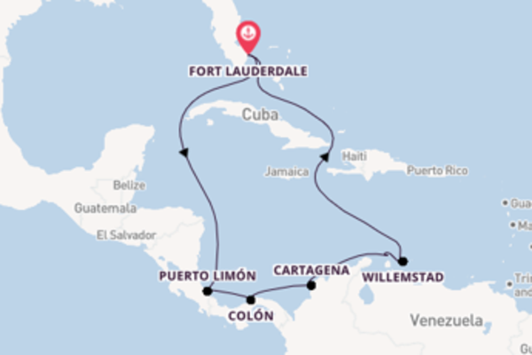 Droomcruise naar Aruba
