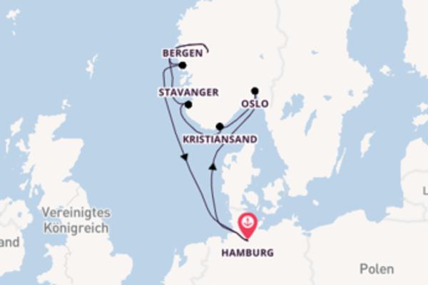 9 Tage Nordeuropa Reise